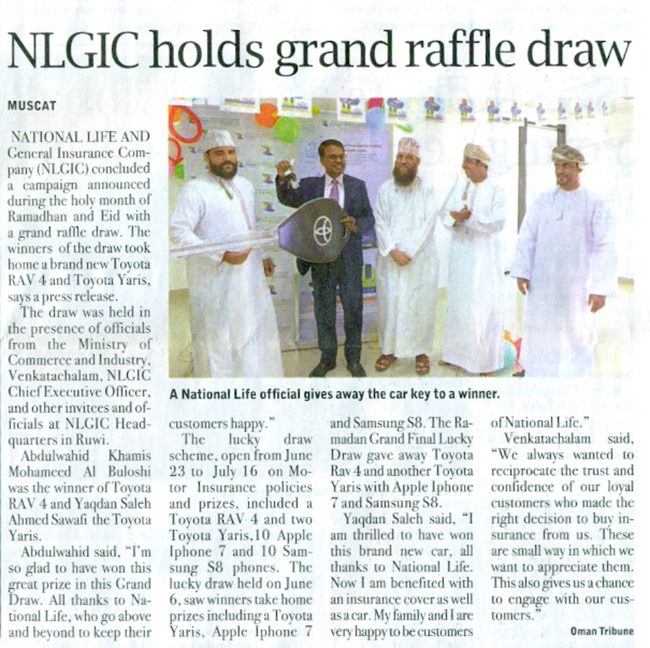 NLGIC DIRECTORS' REPORT For the Year ended 31 December 2019 25