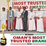 Oman's most trusted brand award